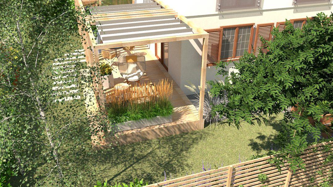 Projekt Naturalistycznego ogrodu