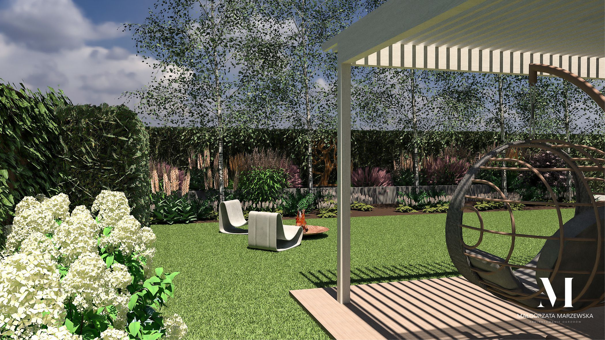 marzewska projekt ogrodu