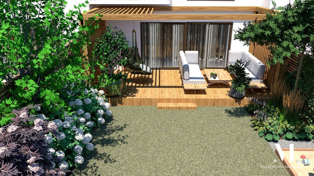projekt słoneczego ogrodu